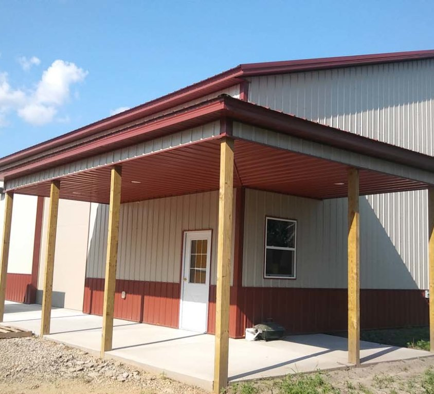 New pole building – St Francis, MN (2)